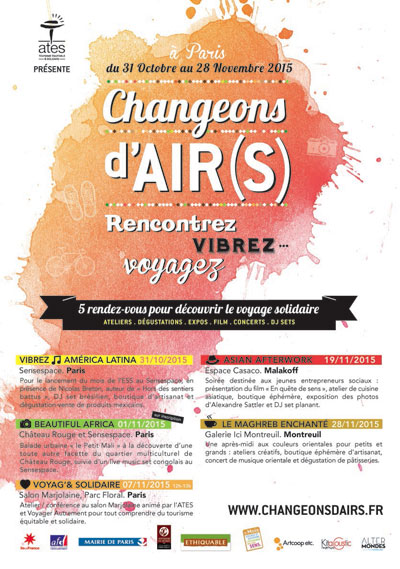Changeons d'Air(s): the festival dedicated to the united tourism