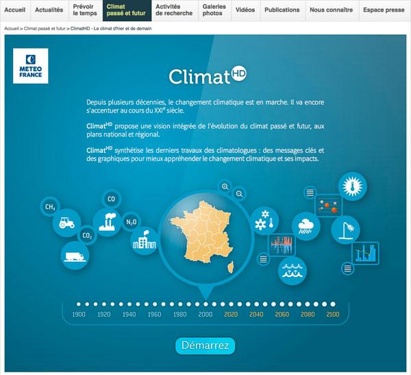 Climat HD : Météo France lance son application gratuite sur le climat