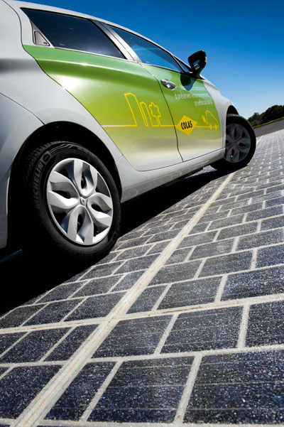 Wattway: Colas invents the solar road!