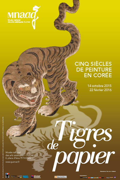 Exhibition: Paper tigers, five centuries of painting in Korea