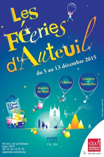 Les Féeries d'Auteuil illuminent l'Ouest parisien