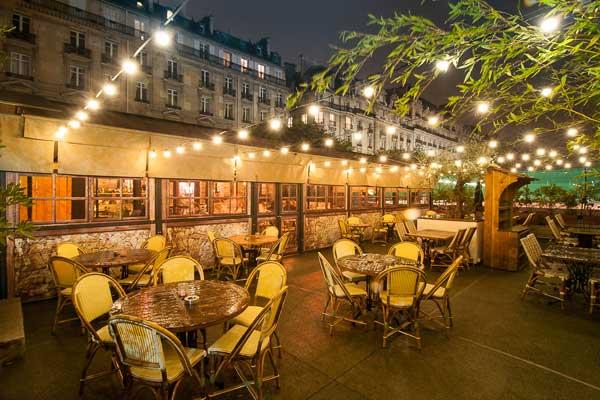 il cottage restaurant italien green hotels paris. Black Bedroom Furniture Sets. Home Design Ideas