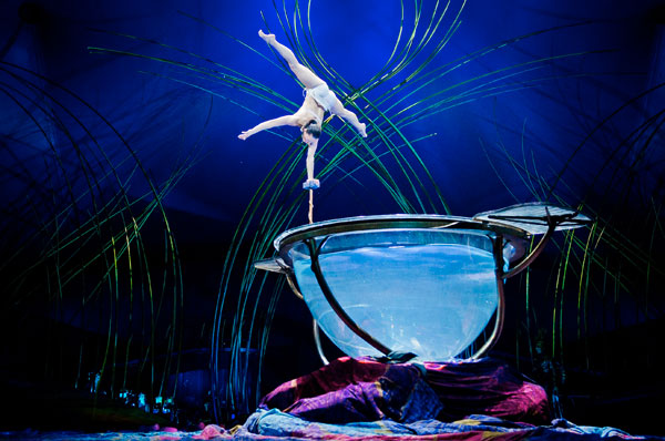 Amaluna: the new Cirque du Soleil enchanting show at Bagatelle