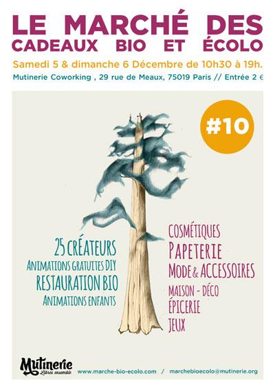 Le marché des cadeaux Bio et Écolo fête sa 10ème édition
