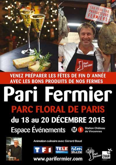 Le 1er Noël de Pari Fermier au Parc Floral de Paris