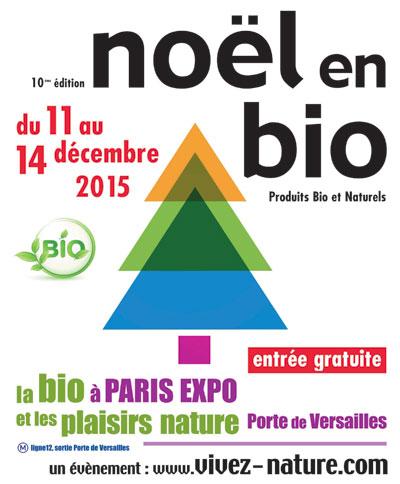 Le Salon Noël en Bio revient pour sa 10ème édition à Paris