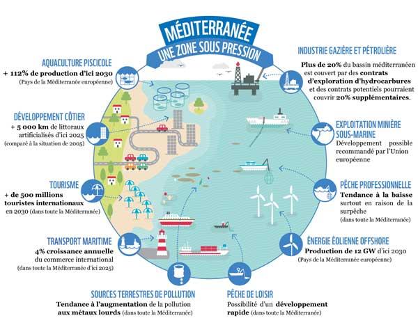 La Méditerranée, une mer en danger ?