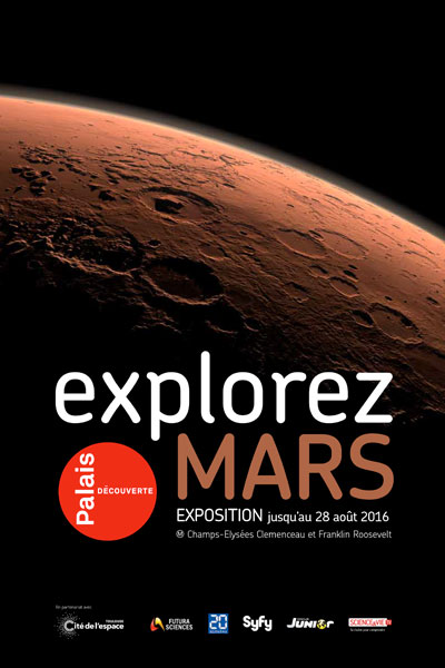 Exhibition: Explorez Mars