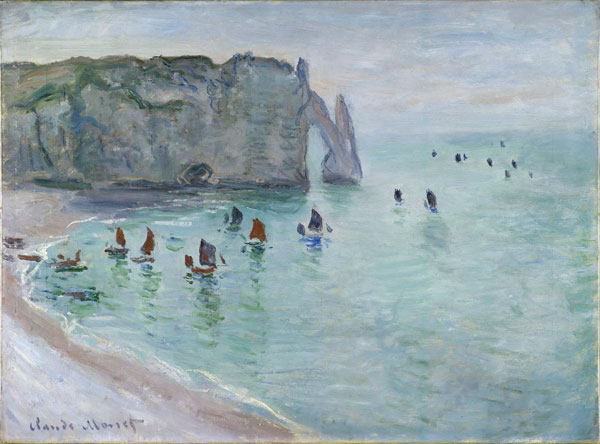 Exhibition: The open-air studio – Impressionists in Normandy