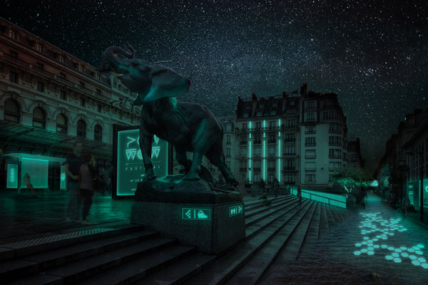 glowee-eclairage-ecologique-bioluminescence-green-hotels-paris-eiffel-trocadero-gavarni