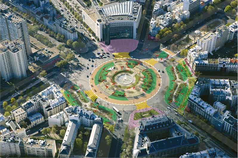 Paris redesigns seven emblematic squares