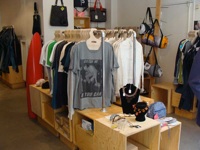 Saps and Co: the ethical and urban concept store of the 17th