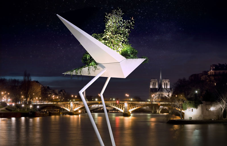 albatros-alexis-tricoire-tf-urban-off-art-design-vegetal-green-hotels-paris-eiffel-trocadero-gavarni