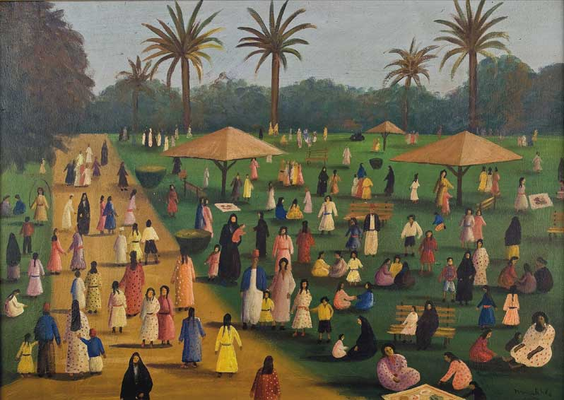 Exposition : Jardins d'Orient