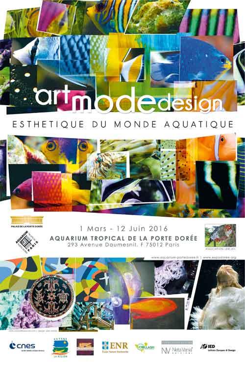Exposition : Art mode design, esthétique du monde aquatique