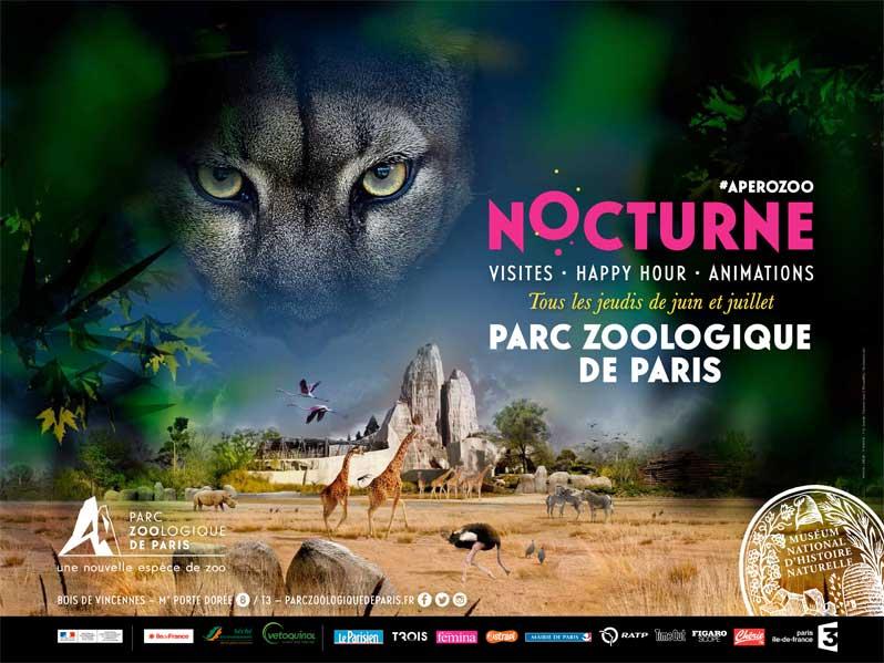 Le Zoo de Vincennes accueille ses visiteurs en nocturne !