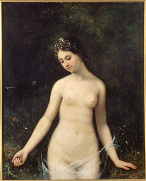 theophile-gautier-jeune-femme-nue-1831-exposition-maison-de-balzac-credit-roger-viollet-green-hotels-paris-eiffel-trocadero-gavarni