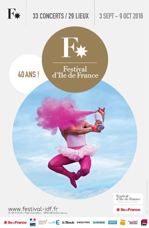 Le Festival d'Ile-de-France : 40 ans déjà !
