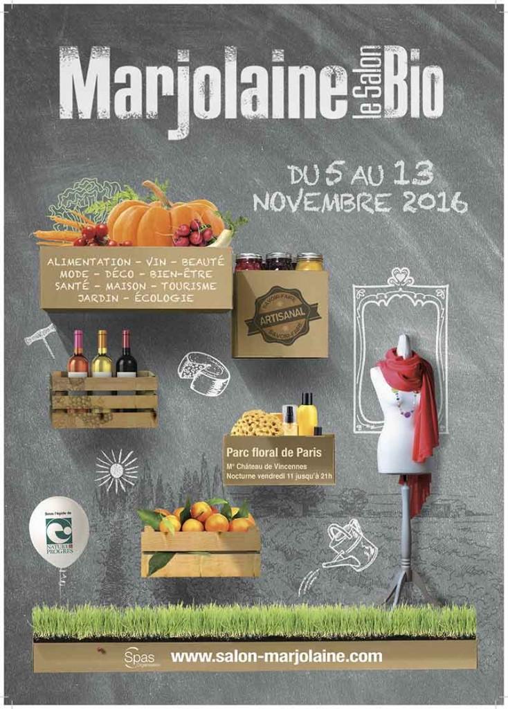 affiche-salon-marjolaine-2016-bio-green-hotels-paris-eiffel-trocadero-gavarni