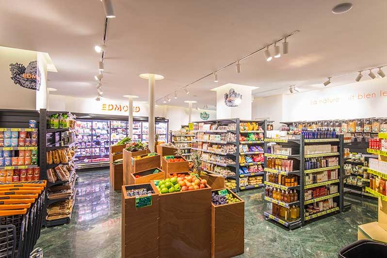 Edmond : l'épicerie fine bio et sans gluten