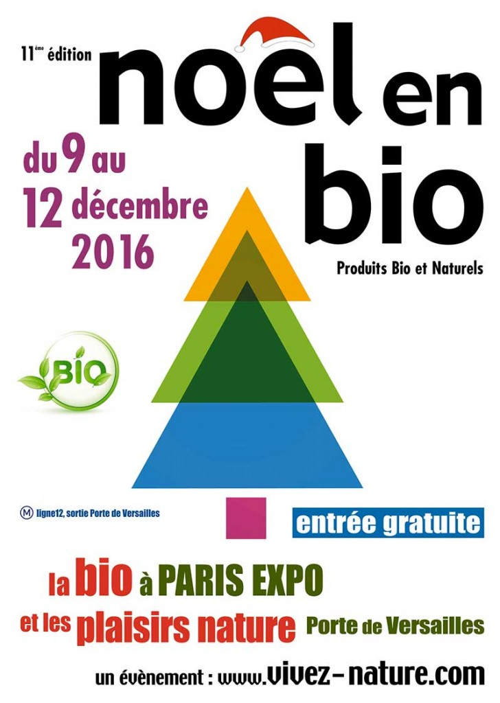 affiche-salon-noel-en-bio-edition-2016-green-hotels-paris-eiffel-trocadero-gavarni