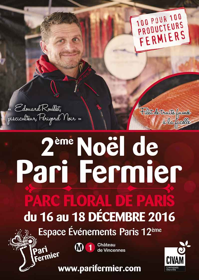 2nd edition of the Salon Pari Fermier de Noël