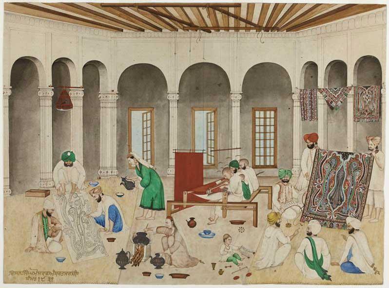 Exposition : Ascètes, sultans et maharajahs