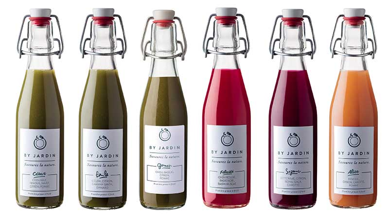 By Jardin: Organic, gourmet and made in France juices