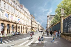Bientôt une piste cyclable bidirectionnelle rue de Rivoli !