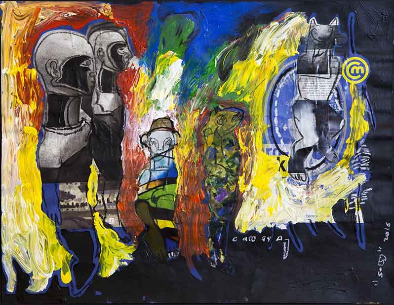 Exposition : Soly Cissé – Les Mutants