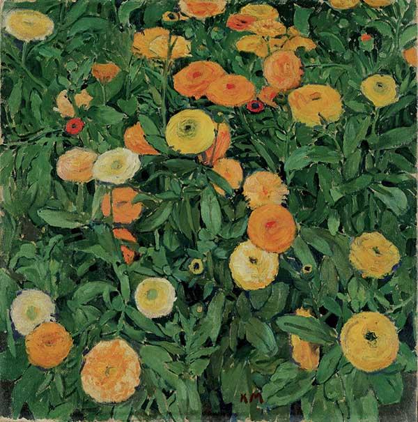 koloman-moser-marigolds-credit-leopold-museum-vienne-exposition-jardins-grand-palais-green-hotels-paris-eiffel-trocadero-gavarni