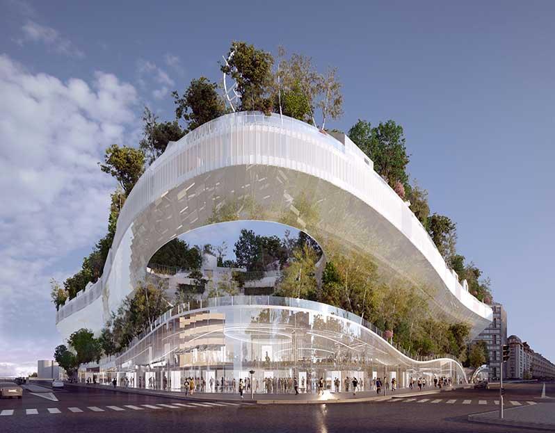 projet-mille-arbres-vue-depuis-la-place-du-general-koenig-DR-green-hotels-paris-eiffel-trocadero-gavarni