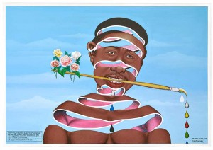 cheri-samba-j-aime-la-couleur-2003-collection-fondation-louis-vuitton-credit-claude-germain-primae-exposition-art-afrique-green-hotels-paris-eif