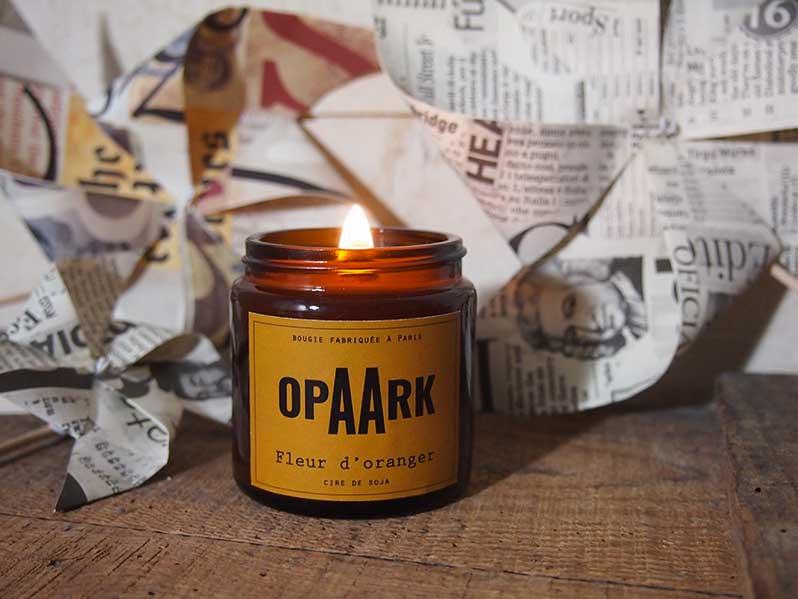 OpAArk : les bougies éthiques et naturelles parisiennes