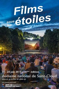 affiche-festival-films-sous-les-etoiles-edition-2017-domaine-national-saint-cloud-credit-cmn-green-hotels-paris-eiffel-trocadero-gavarni