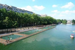 Se baigner au bassin de la Villette, c'est possible !
