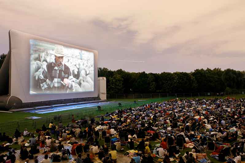 27th Edition of the Open-Air Cinema at La Villette