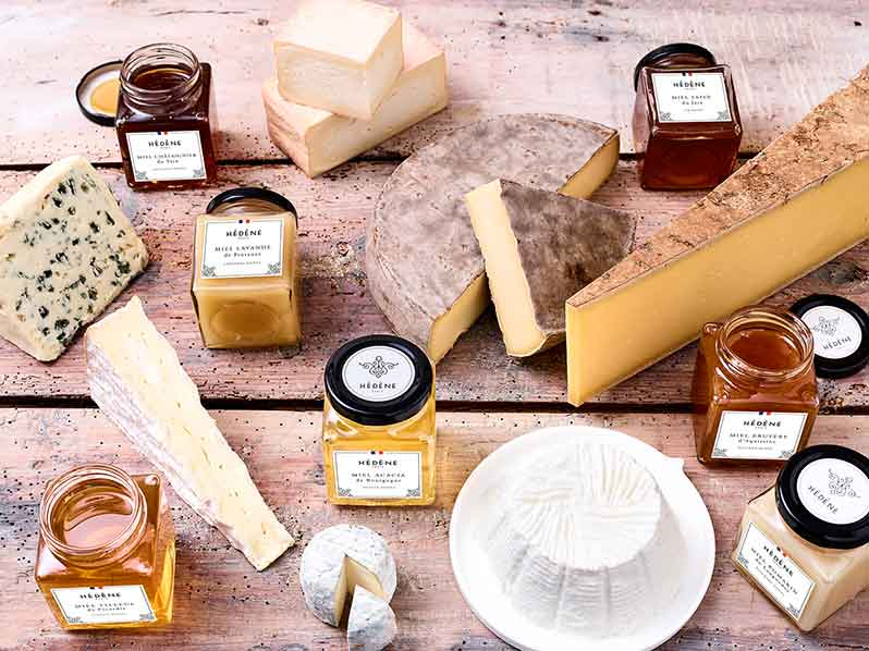 Hédène: des miels gourmands français