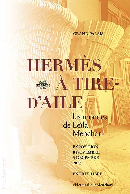 Exhibition: Hermès à tire-d'aile – Les mondes de Leïla Menchari