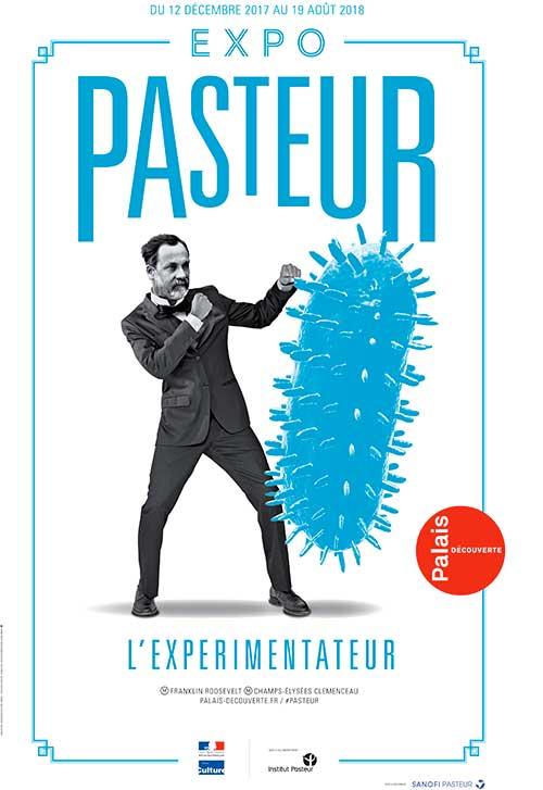 Exhibition: Pasteur, l'expérimentateur