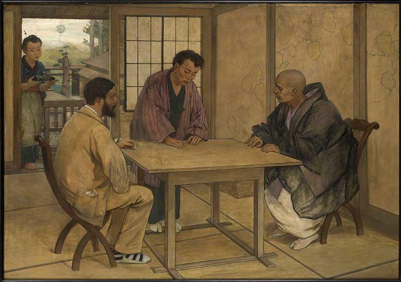 Exposition : Enquêtes vagabondes, le voyage illustré d'Emile Guimet en Asie