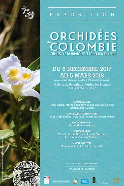 Exposition : Orchidées de Colombie, sur les pas de Humboldt et Bonpland