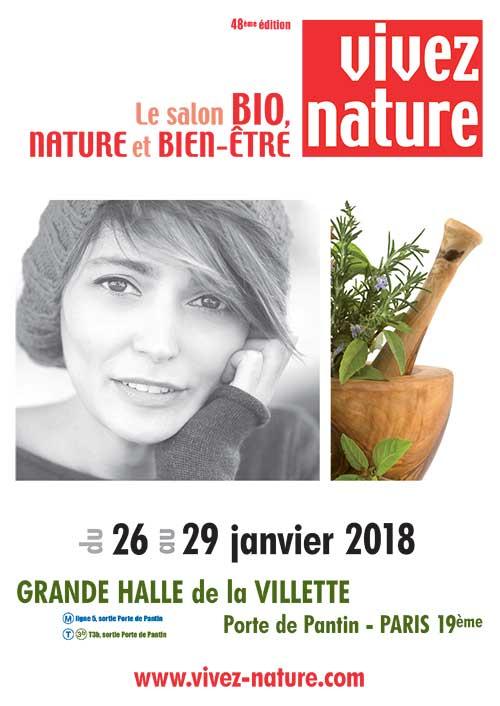 Salon Vivez Nature : le 1er rendez-vous bien-être de l'année 2018