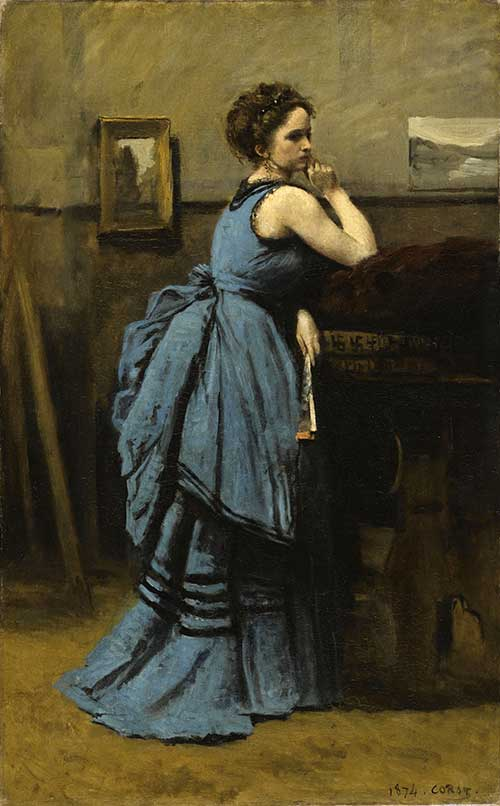 Exhibiton: Corot, le peintre et ses modèles
