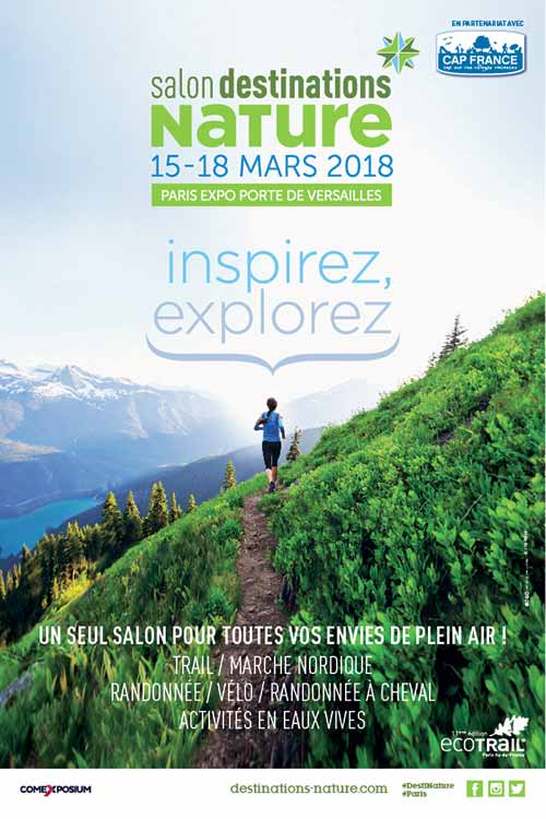 Destinations Nature : le salon dédié aux sports en plein air et à l'écotourisme