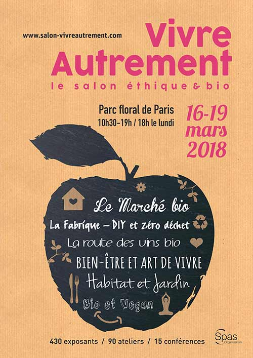 "The salon Vivre Autrement 2018 edition celebrates the ""zero waste"" lifestyle"