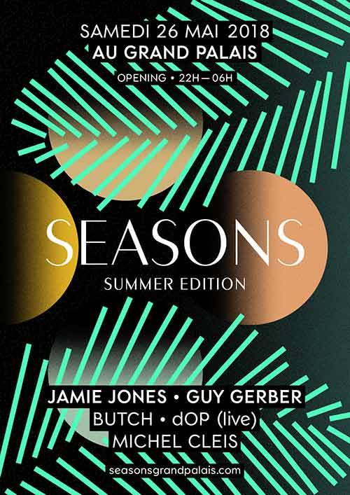 Le Grand Palais lance la 1ère édition de « Seasons »