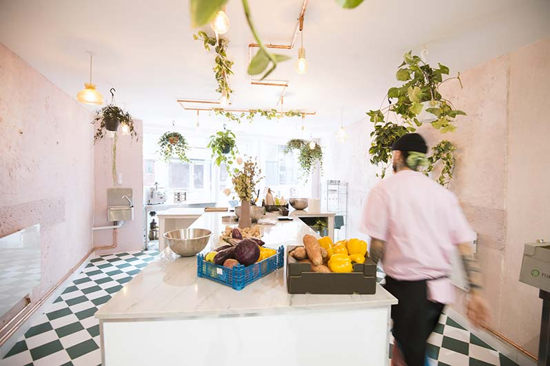 Le Lab by AV: l'Abattoir Végétal's vegan and vegetarian caterer