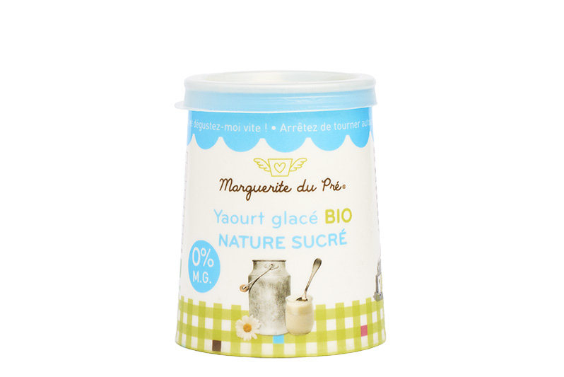 Marguerite du Pré: the organic frozen yoghurt to taste this summer
