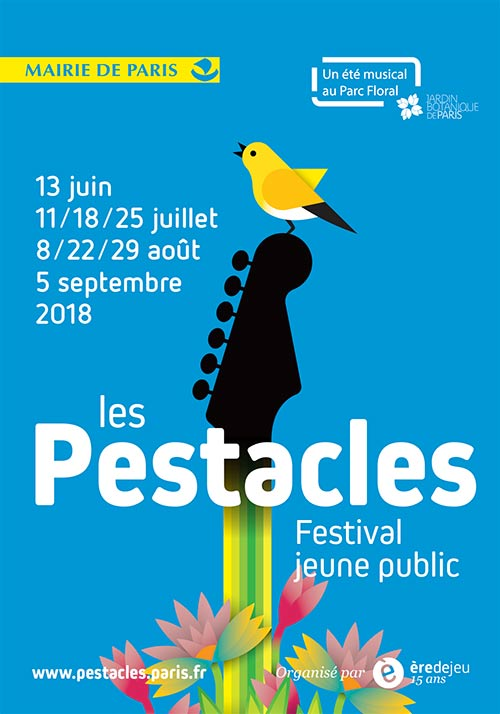 Les Pestacles: the young audience festival of the Parc Floral de Paris